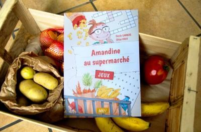 Amandine au supermarché