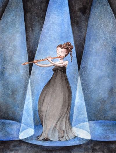 La flûtiste
